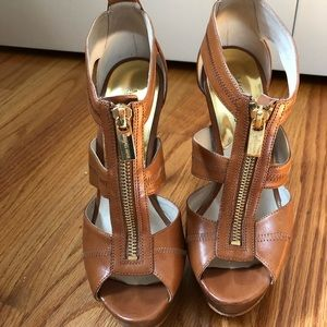 Michael Kors Women's Zipper Heels/ Sandals Size 7